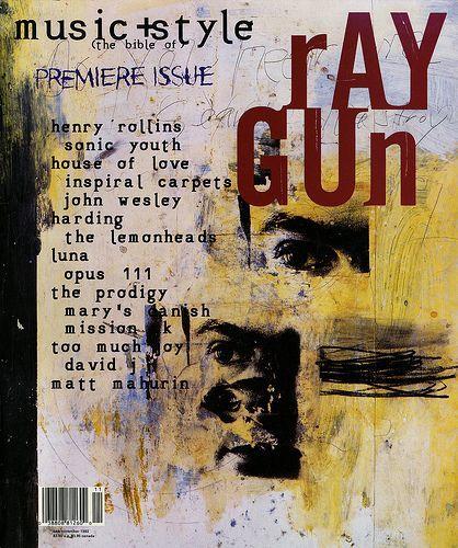Raygun #1 by David Carson