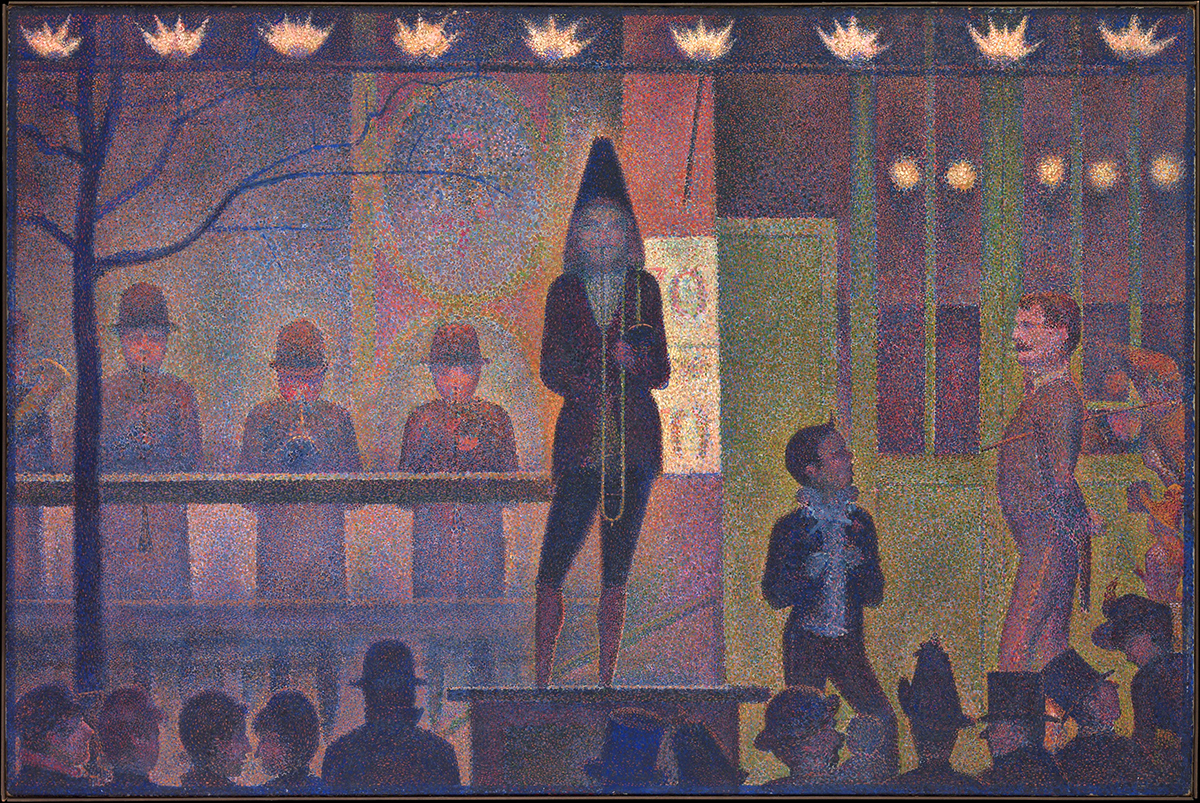 Circus Sideshow (Parade de Cirque) by Georges Seurat