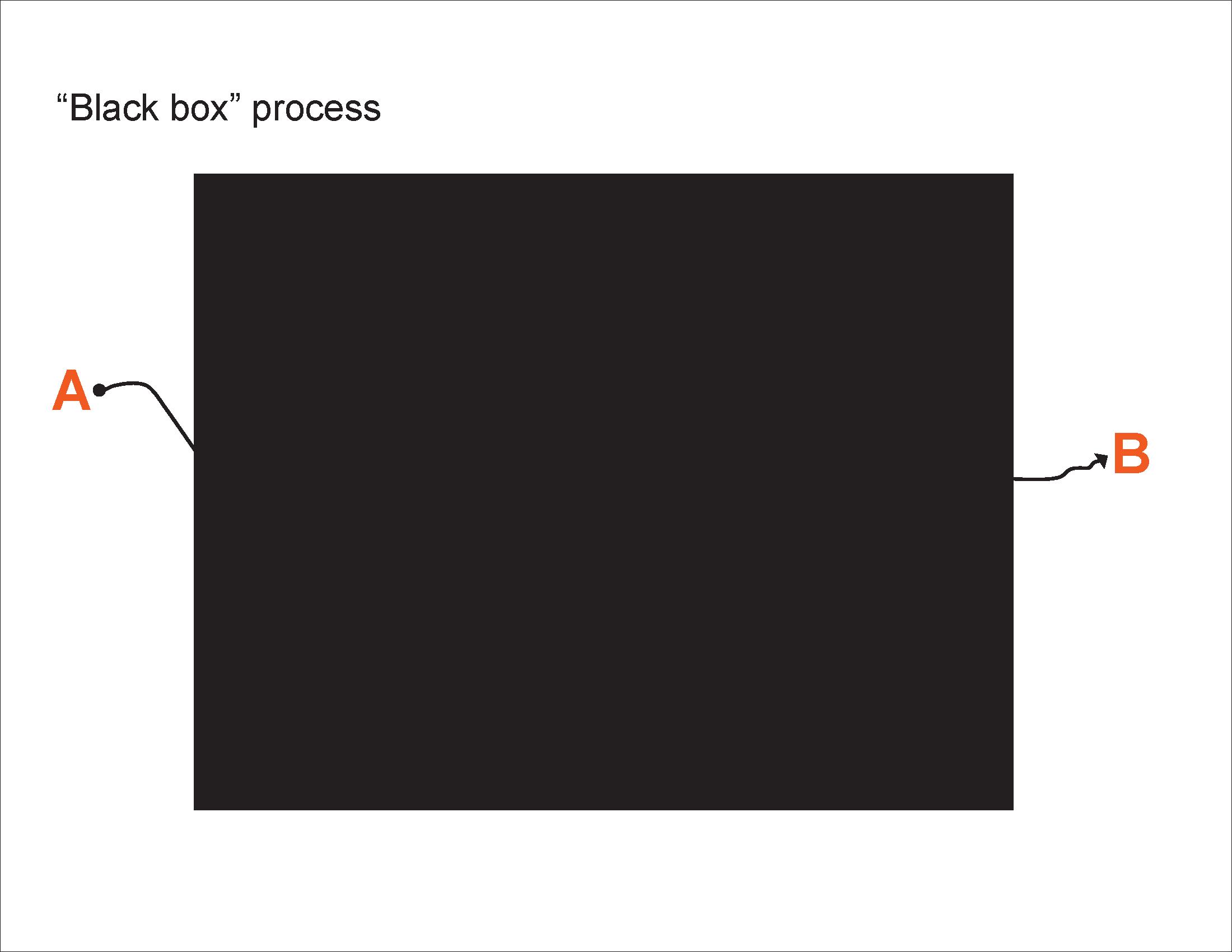 """Black box"" process"