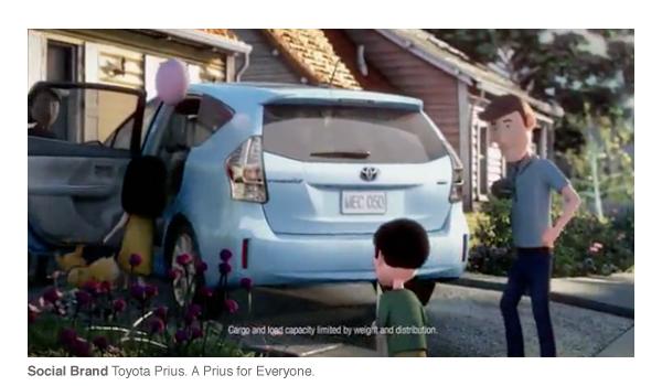 Social Branding - Toyota Prius