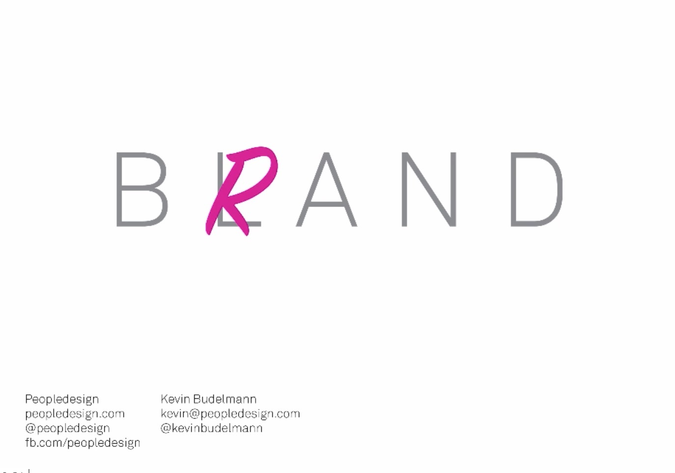 Branding Not Blanding Webinar